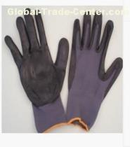 Resilient Flexible Seamless Knitted Nylon Liner PU Coated Glove