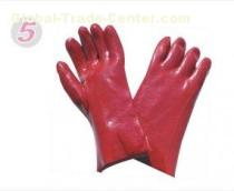 Dipping Styling Chemicals Resistance Industrial Protective Hand Gloves For Engineering