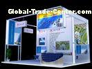 Island Exhibition Booth Display , Truss Trade Show Display system