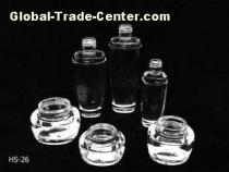 Custom Essence Oil Skin Care Cosmetic Glass Bottles and Jars