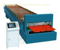 Custom Roof Panel Roll Forming Machine with Hydraulic Cutter 0 - 10m/min 11 Stations