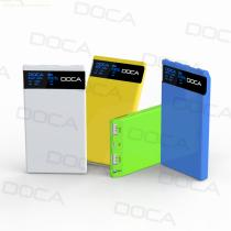 DOCA D601 New released 8000mah mobile battery power bank