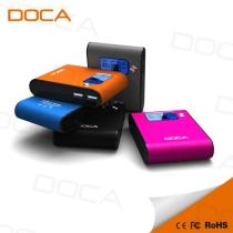 DOCA D565 8400mAh Portable Power Bank With 5 Colors