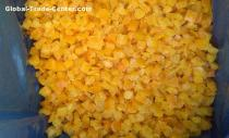frozen yellow pepper diced frozen foods frozen vegetables frozen  green pepper from China