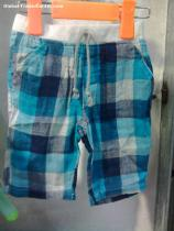 plaid trendy string shorts/pants/trousers