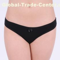 plain cotton thong lady panties sext g-string super cotton lady undergarment sexy lingerie intimate cotton t-ba