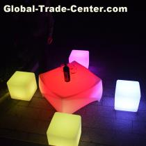 Led Rhomboic Coffee Table L75*W75*H40CM