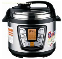 Electric Pressure Cooker with multifunction cook