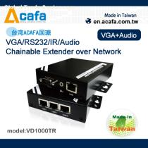 VD1000TR VGA/RS232/IR/Audio Chainable Extender over Network