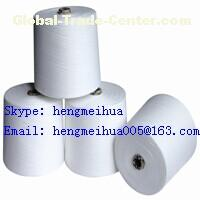 Combed Polycotton Yarn 32s/1 CVC Yarn 50/50 Blended Yarn