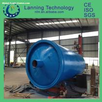 Lanning Patented products long usage life waste tyre pyrolysis plant