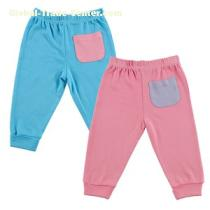 Huvable Friends USA Hudson Baby Bamboo Pants 2-Pack,Pink and Teal #68349