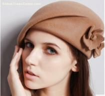 china wholesale beret hat manufacturer for ladies