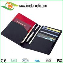 Leather passport holder custom logo , Customized leather products