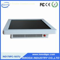 17'' White Color Touch Computer Rugged Panel PC with 2g RAM 500g HDD