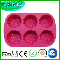 Eco-friendly silicone cake molds Heat resistance silicone bread baking mold BPA FREE FDA LFGB