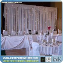 High quality crystal backdrop for even patry decoration