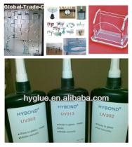 UV Curing Glue for glass to glass/metal/plastic
