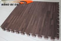 Non-toxic Soft Wood Floor Tiles - EVA foam softer , safety passing EN71,REACH, Formamide