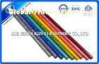 OEM Colorful Sketching Glitter Multi Color Pencil Kids Stationery Sets 17.6cm 0.72cm Dia