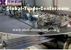 CR / HRC Hydraulic Metal Slitting Line With Steel Slitting and Cutting Machine