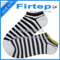 Socks Manufacturer Supply Men Boat Striped Cotton Socks
