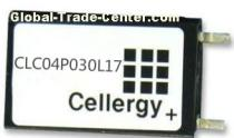 Cellergy electrochemical super capacitor CLC04P030L17
