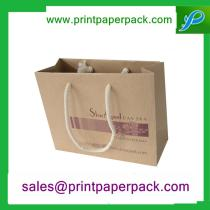 New Style Deluxe Matte Lamination Carboard Kraft Bag / Shopping Bag