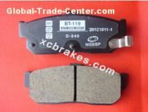 Auto accessories caremic brake pads for NISSAN