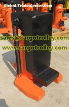 Hydraulic toe jack with durable quality and competitive price