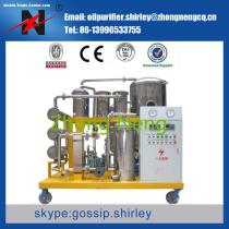 Series COP Vacuum Waste Cooking Oil Purifier,UCO Disposal System for Bio Diesel