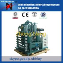 Double Stage Vacuum Oil Purifier Oil Purification Oil Filtration