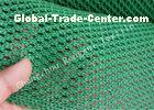Construction Safety Net HDPE Wind Protection Screen , Single Peak Wind Dust Net Mesh
