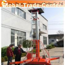 Mobile trailer portable hydraulic telescopic cylinder lift platform
