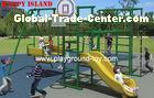 Swing Set For Kids , Children Swing Sets With Galvanized Steel RKQ-5155A