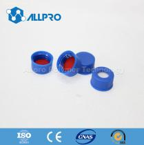 Blue Cap with Bonded Silicone Septa for 9-425 Autosampler Vial