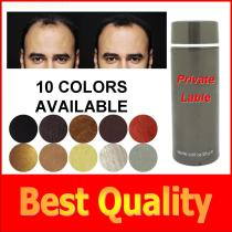 World Best OEM Hair Regrowth Products Hair Thickening Fibers For Hair Thinning 27.5g/ 25g