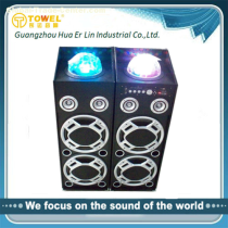 "Professional double 10"" top pro audio speaker/sound system in Guangzhou China sound power amplifier"