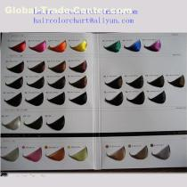 customized hair color charts supplier