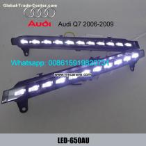 AUDI Q7 led driving lights DRL turn signal Daytime Light steering daylight