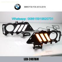 BMW F30 F35 2013-2019 DRL LED Daytime Running Lights turn light