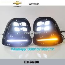 Chevrolet Cavalier LED cree DRL day time running lights driving daylight