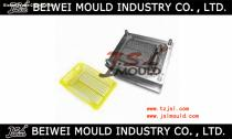 Kitchen supplies plastic dish rack mould