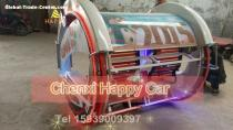 Christmas Hot Product Amusement Equipment Hapy 360 Degree Rotating Racing Car for sale