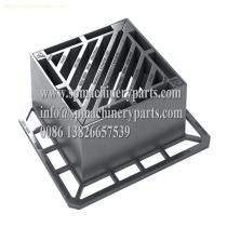 Heavy Duty Ductile Iron BS EN124 Class D400 Gully Gratings with Anti-theft Captive Hinge Make In China