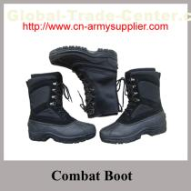 Full grain leather Ankle Military Combat Boot