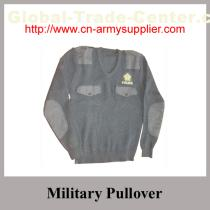Military Sweater with camouflage color Army green Navy Blue Khaki Grey color for army police wear