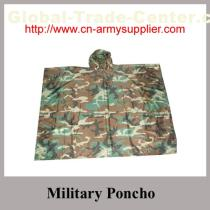 Camouflage Army Poncho