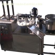 KPSG-2 Semi Automatic Adhesive Glue Filling Caping Machine