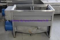 Small frying machine semi-automatic frying equipment